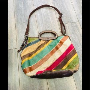Fossil Multi Color Bag